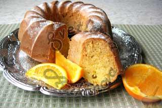 Кексы апельсиновые на кефире