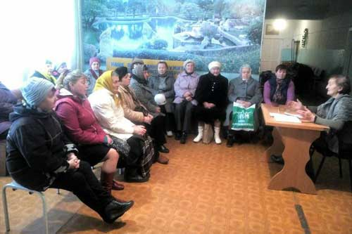Гребінчанам поважного віку розповіли, що таке об'єднана територіальна громада