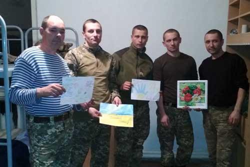 Із Гребінківщини в зону АТО відправили новорічні гостинці для військових