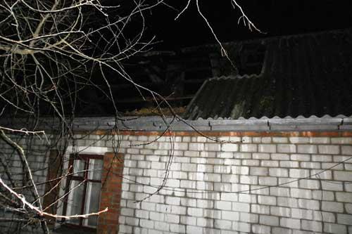 У Гребінці спалахнула пожежа в приватному житловому будинку