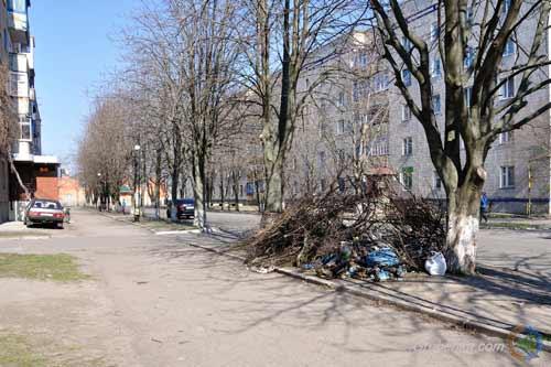 В Гребінківській ОТГ стартував місячник чистоти, впорядкування, озеленення та благоустрою