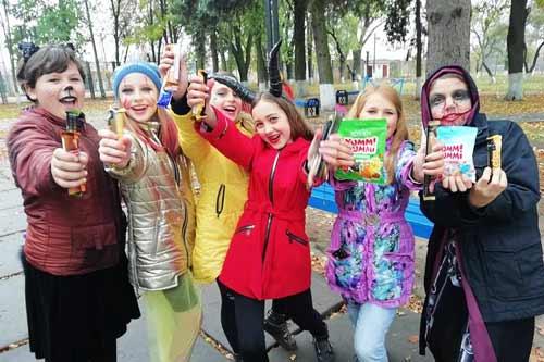 У Гребінці з нагоди початку осінніх канікул провели свято-квест «Скарби осені»