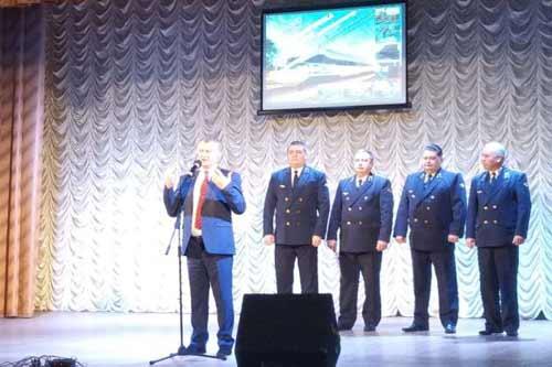 У Гребінці з нагоди професійного свята відзначено нагородами найкращих залізничників