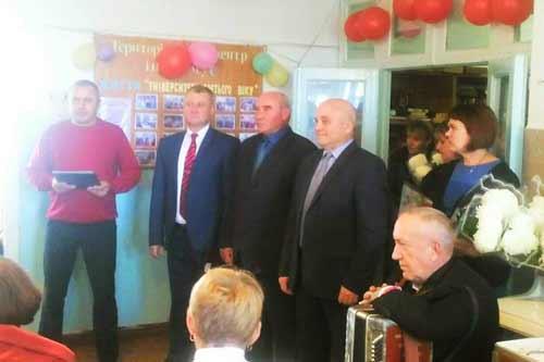 У Гребінківському територіальному центрі пройшов святковий захід до Дня працівника соціальної сфери