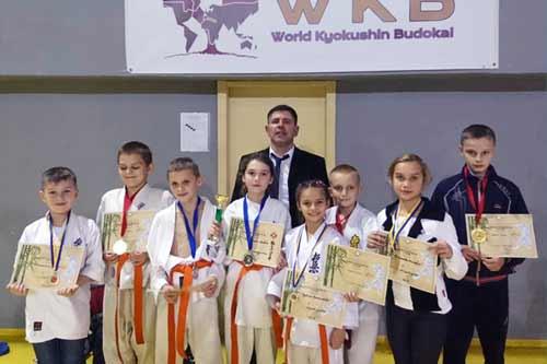 Гребінківські каратисти взяли участь у відкритому Чемпіонаті Київської області
