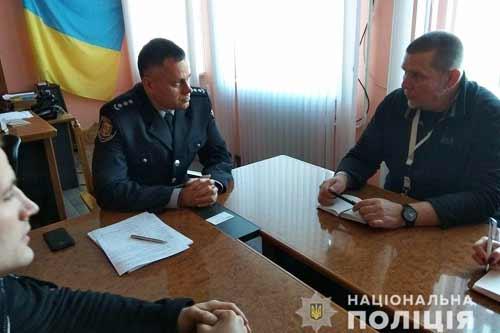Представники спеціальної моніторингової місії ОБСЄ в Україні відвідали Лубенський відділ поліції