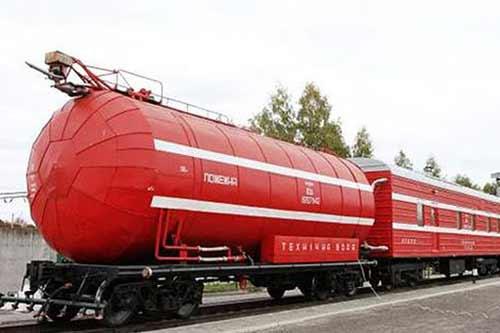 Пожежний потяг з Гребінки направили для гасіння пожежі біля Ічні