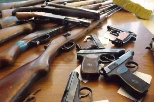 З 1 по 31 жовтня на Полтавщині стартує черговий місячник добровільної здачі зброї