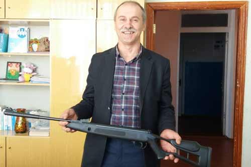 Для навчальних закладів Гребінківщини придбано пневматичні гвинтівки