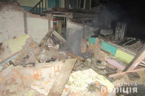 На Полтавщині унаслідок вибуху в квартирі двоповерхового будинку загинув 43-річний чоловік