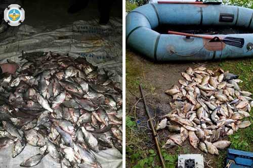 За рік роботи Полтавський рибоохоронний патруль провів 1460 рейдів