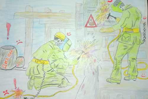 На Гребінківщині завершився регіональний тур конкурсу дитячого малюнка «Охорона праці очима дітей»