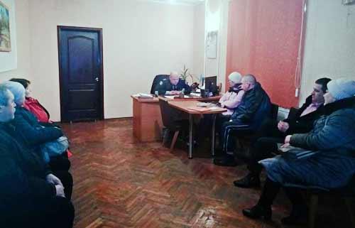 Керівник поліції Гребінківщини зустрівся з представниками політичних партій