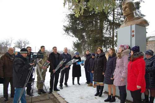 На Гребінківщині відзначили 76-у річницю подвигу земляка-Героя Г.С. Кагамлика