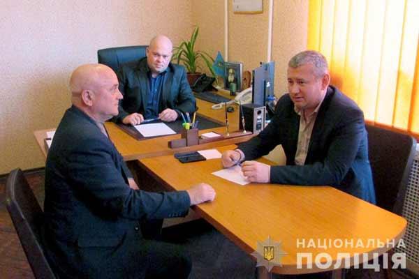 Сьогодні очільник поліції Полтавщини приймав громадян у Гребінківському, Пирятинському та Лубенському районах