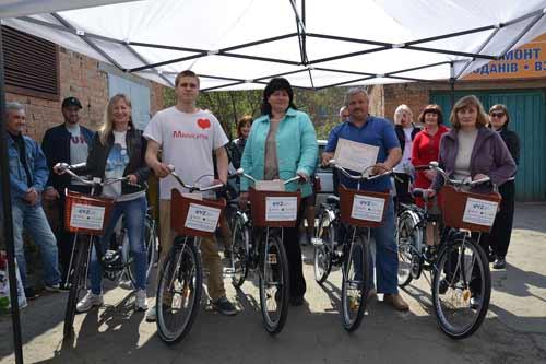 На Полтавщині для волонтерів придбали нові велосипеди