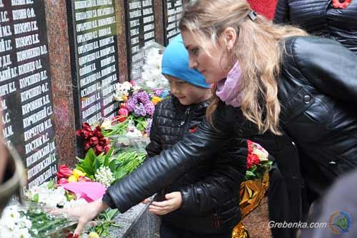 Гребінківська громада відзначила 74-у річницю перемоги над нацизмом в Другій світовій війні
