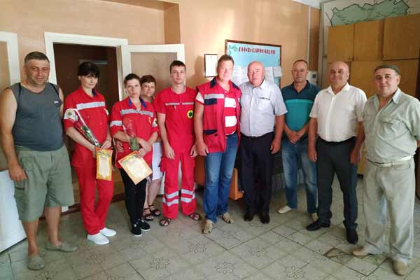 На Гребінківщині медичних працівників привітали з професійним святом