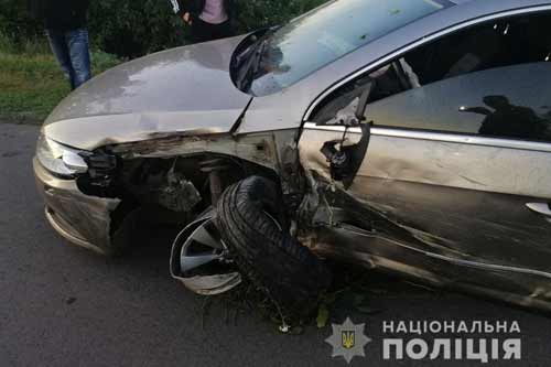 В Миргороді сталися два ДТП – з травмами ушпиталено двох людей