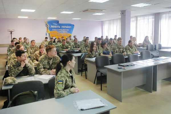 На Полтавщині провели заняття з майбутніми офіцерами