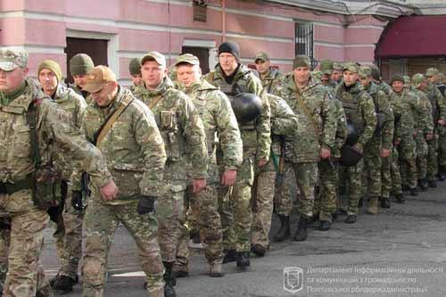 Загін поліції з Полтавщини провели на чергову ротацію на схід