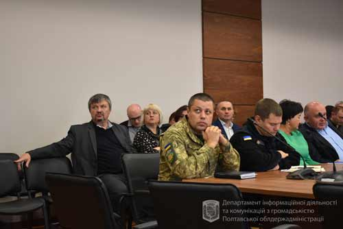 Полтавщина – перша область в Україні, де заклади освіти одержали комплекти навчальної зброї