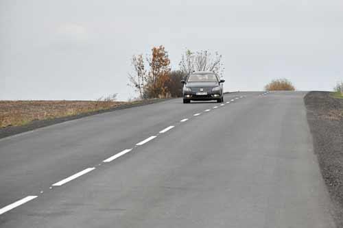 Відкрита відремонтована дорога з Лубен в Черкаську область