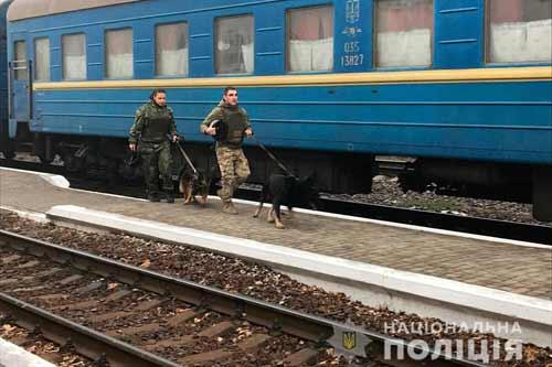 На Полтавщині з потягу Бахмут - Львів евакуювали сотні пасажирів