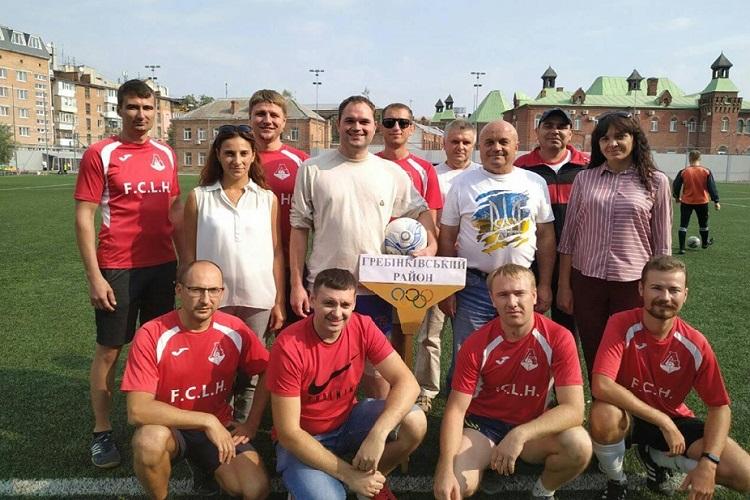 У спартакіаді держслужбовців Полтавщини перемогла команда Пенсійного фонду