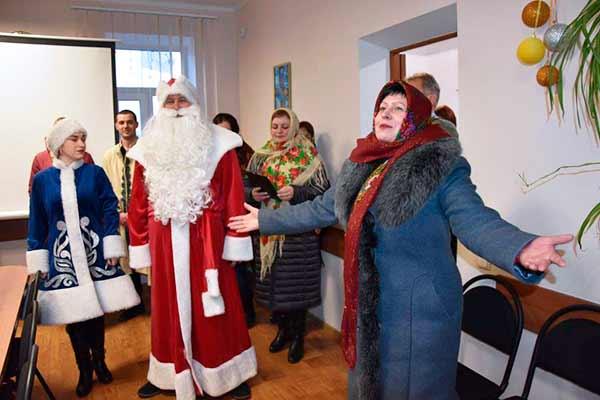 У Пирятинській громаді на Маланку щедрували, року щасливого бажали