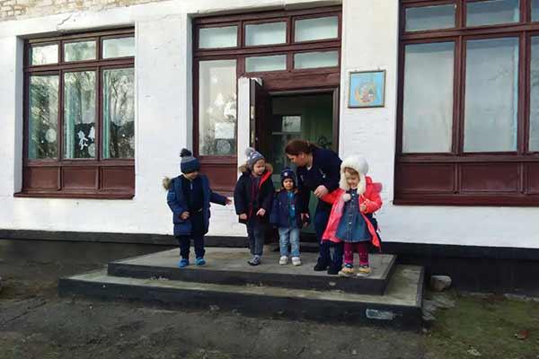 На випадок виникнення пожежі рятувальники Гребінківщини провели практичні тренування