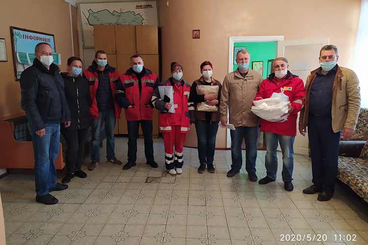 Гребінківська міська рада передала медичним закладам засоби індивідуального захисту