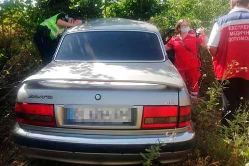 У Полтавській області легковик з'їхав у кювет: водій поранився
