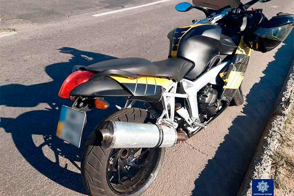 На Полтавщині виявили мотоцикл який знаходиться у розшуку Інтерполу