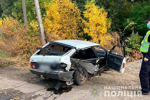 """На автодорозі «Полтава – Суми» зіткнулися """"ВАЗ"""" та «Форд Транзит»: є травмовані"""