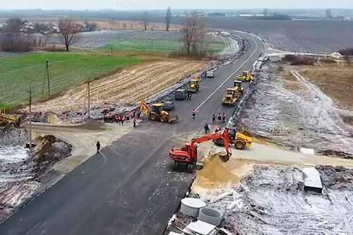 Цього року на Полтавщині відремонтували рекордну кількість доріг