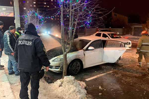 У Полтаві спалили машину депутату міської ради від партії «Рідне місто»