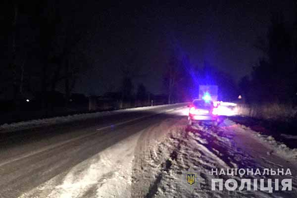 ДТП на Полтавщині: водій вантажівки наїхав на чоловіка, постраждалий у лікарні