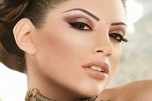 Свадебный макияж греческом стиле