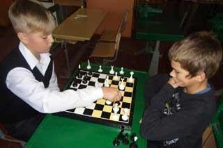 Гребінківська ЗОШ №4: Чемпіонат школи із шахів