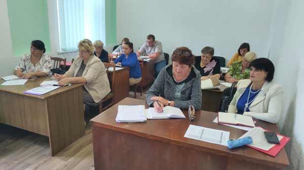 Нарада заступників директорів з навчально-виховної роботи