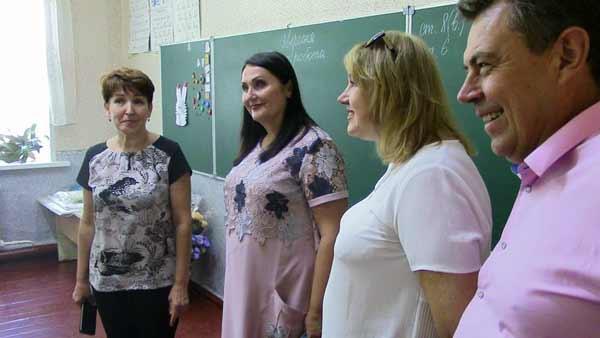 Директор Департаменту освіти і науки Полтавської ОДА в Гребінці