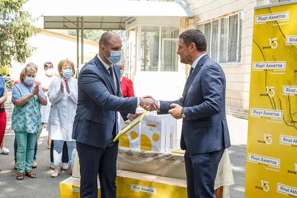 Миргородська ЦРЛ отримала апарат штучної вентиляції легень