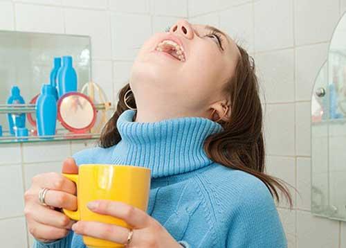 Ангина лечение в домашних условиях фото