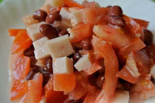 Вкусные салаты на праздничный стол рецепты с с ветчиной